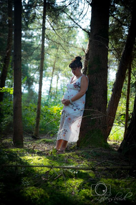Babybauchfotografie Lebensbuidl