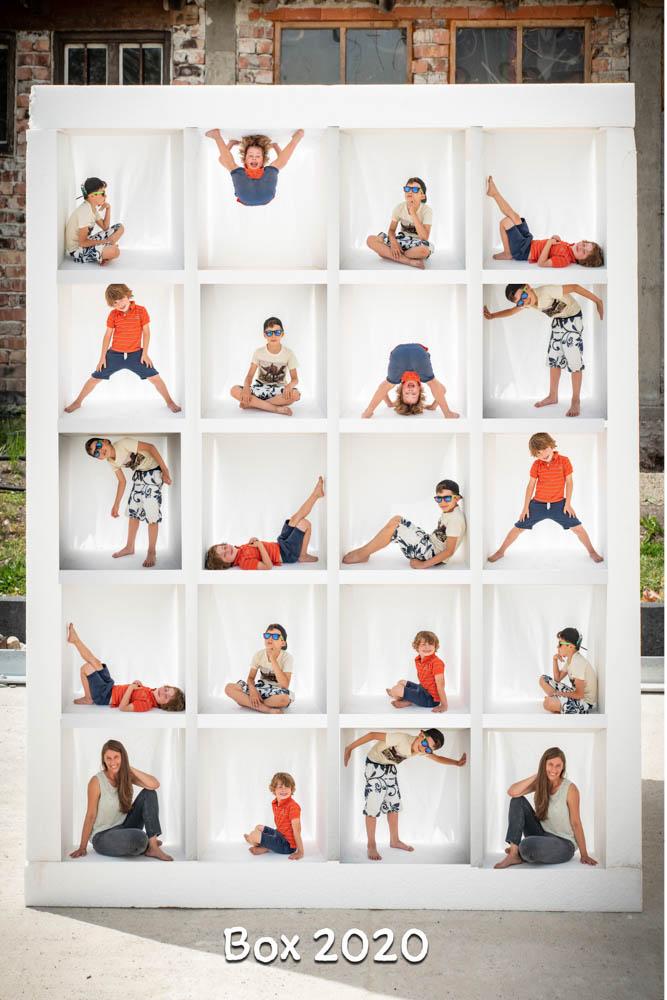 Corona Klassenfoto jedes Kind einzeln, mit Abstand, kontaktlos
